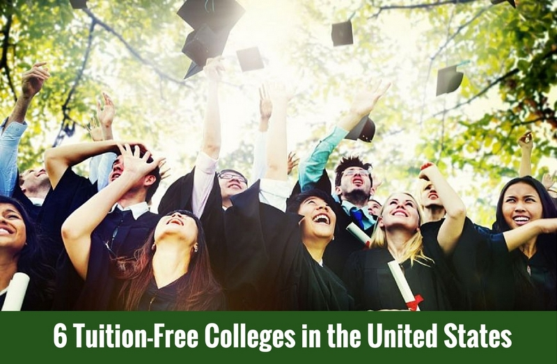 6 Tuition-Free Colleges in the United States
